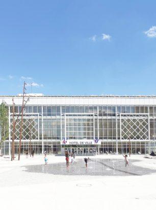 safia BENAYAD-CHERIF architecture_Garges-les-Gonesse_Hotel de Ville_